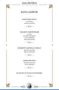 5 menu