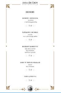 6 menu