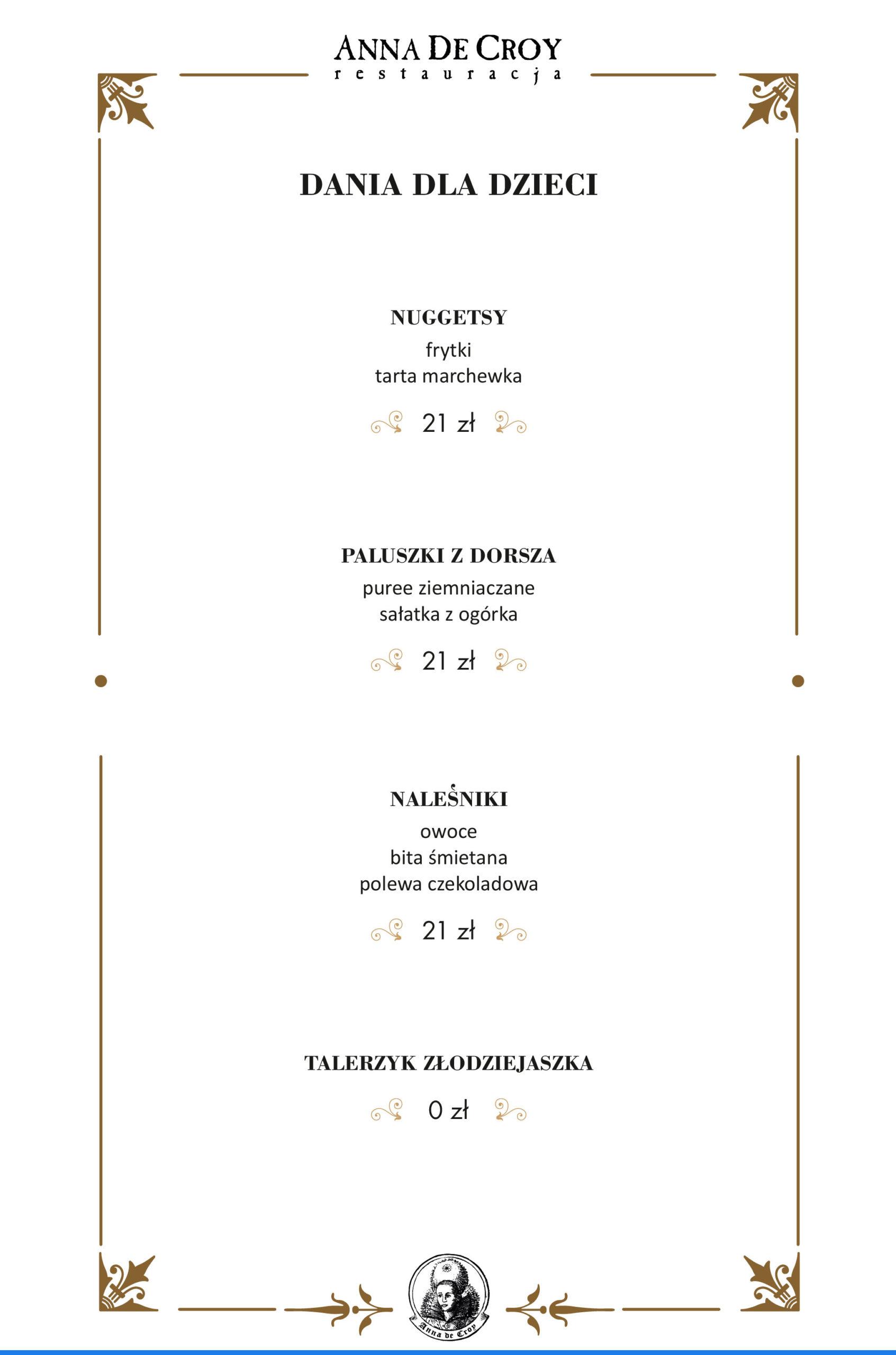 7 menu