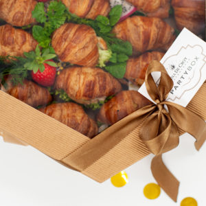 box mini croissant