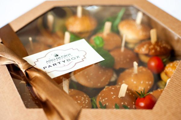 box mini burger
